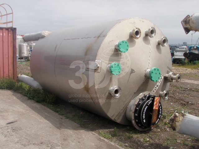 16,970 Litre Stainless Steel Storage Tank #1733 main image