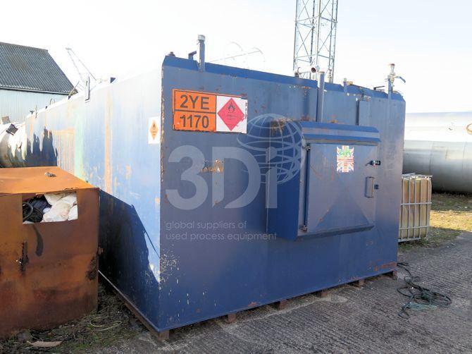 50,000 Litre Bunded Fuel Storage Tank
