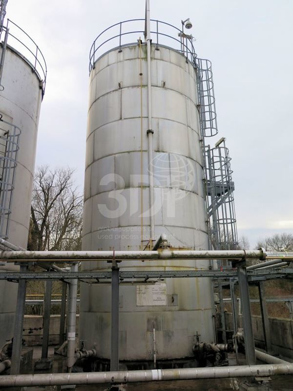 135,000 Litre Stainless Storage Tank