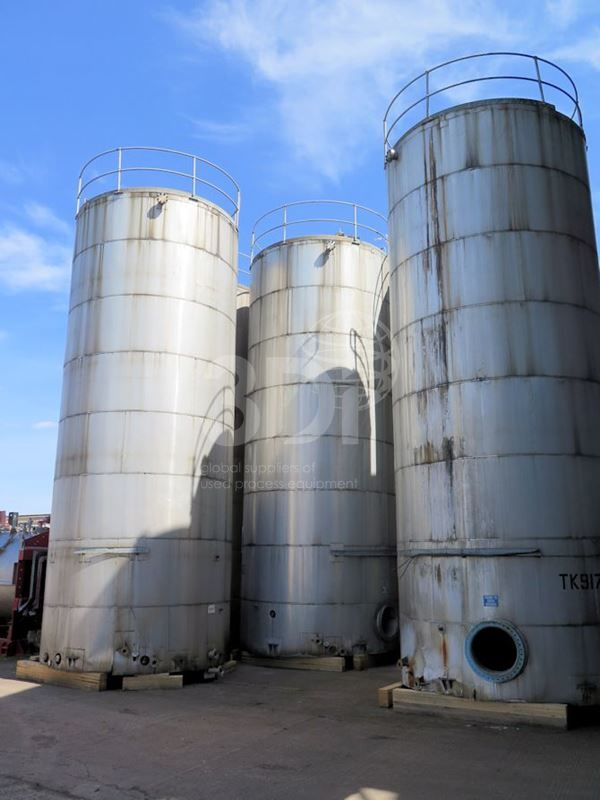 87,000 Litre Storage Tanks