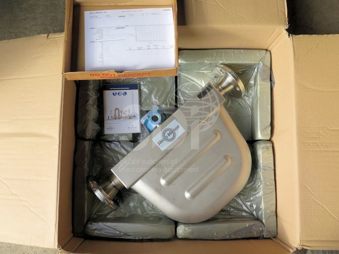 Mircomotion F Series Coriolis Flow & Density Meter F200 main image