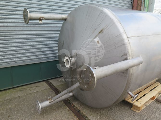 4,000 Litre Stainless Storage Tank