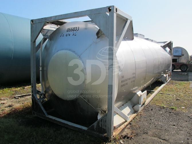 35,000 Litre ISO Tank Container