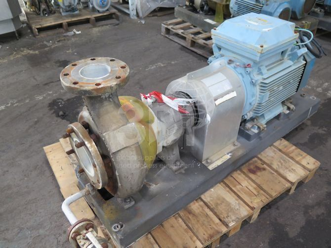 Durco Centrifugal Process Pump MK3-2K6X4-10