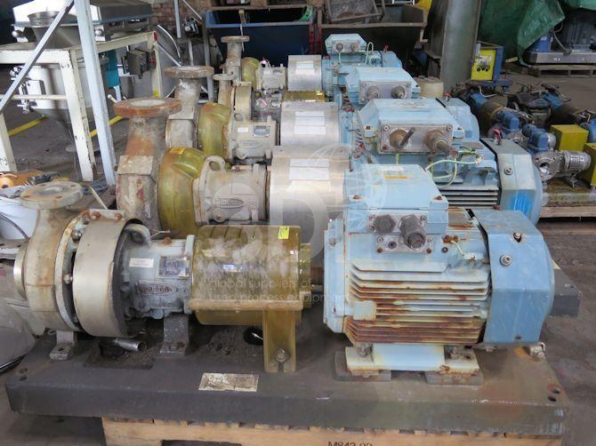Durco Centrifugal Pump MK3-2K3X2-10A/90