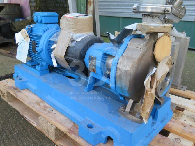Ingersoll-Dresser Centrifugal Pump Type 40-25CPX200 | 3Di Process