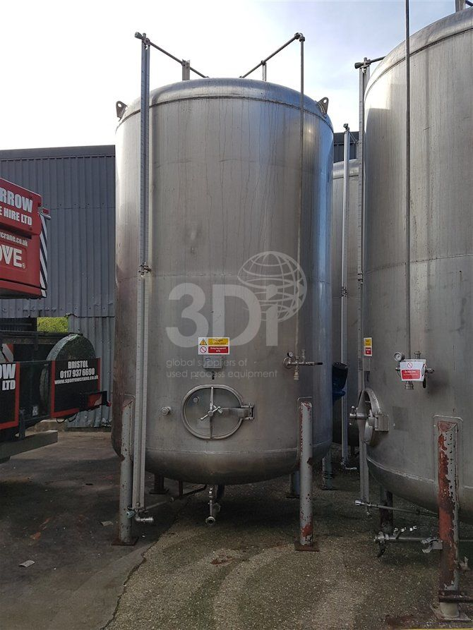 14,700 Litre Stainless Steel Storage Tank-a