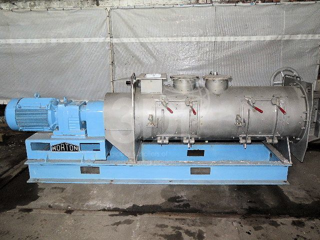 morton ploughshare mixer km300d-a