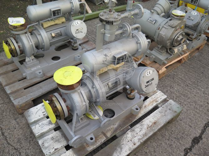 Hermetic Pump Type CNK40-200-#2136-a