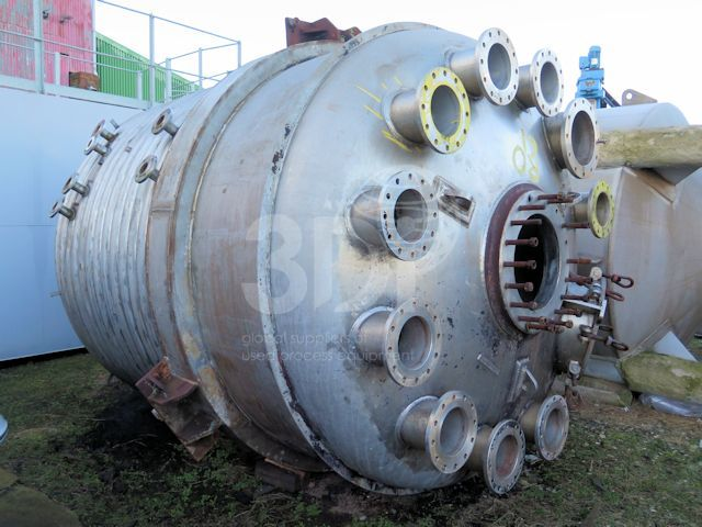 13,500 Litre Stainless Steel Reactor #2036-a