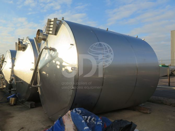 30,000 Litre Jacketed Mixing Vessel-a