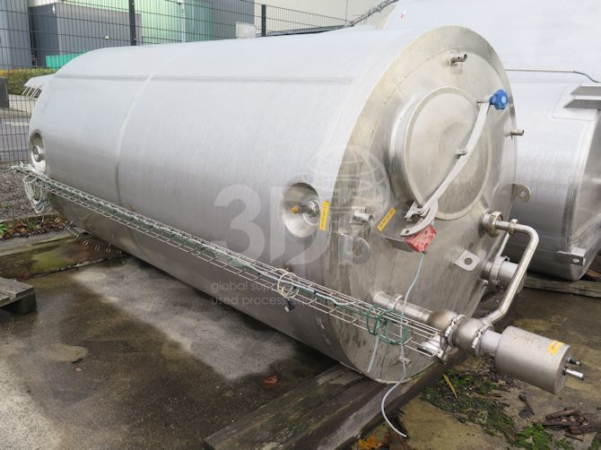 5,000 Litre Stainless Steel Storage Tank a
