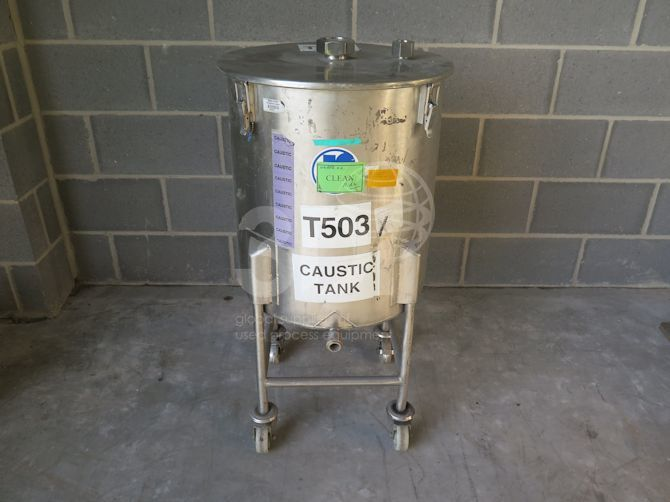 100 litre mobile storage tank #2342 main image