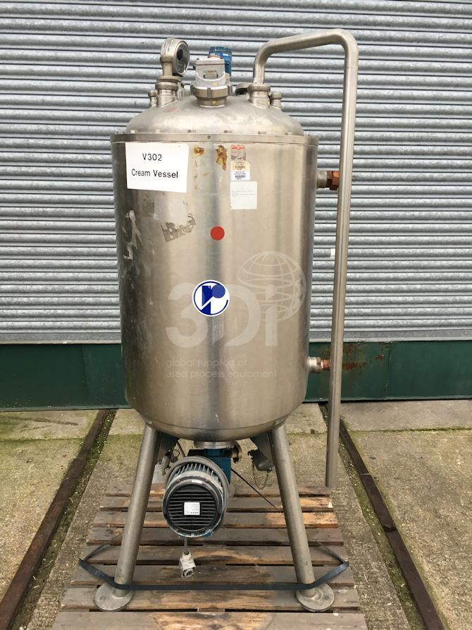 200 Litre Jacketed Mixing Vessel #2346 main image