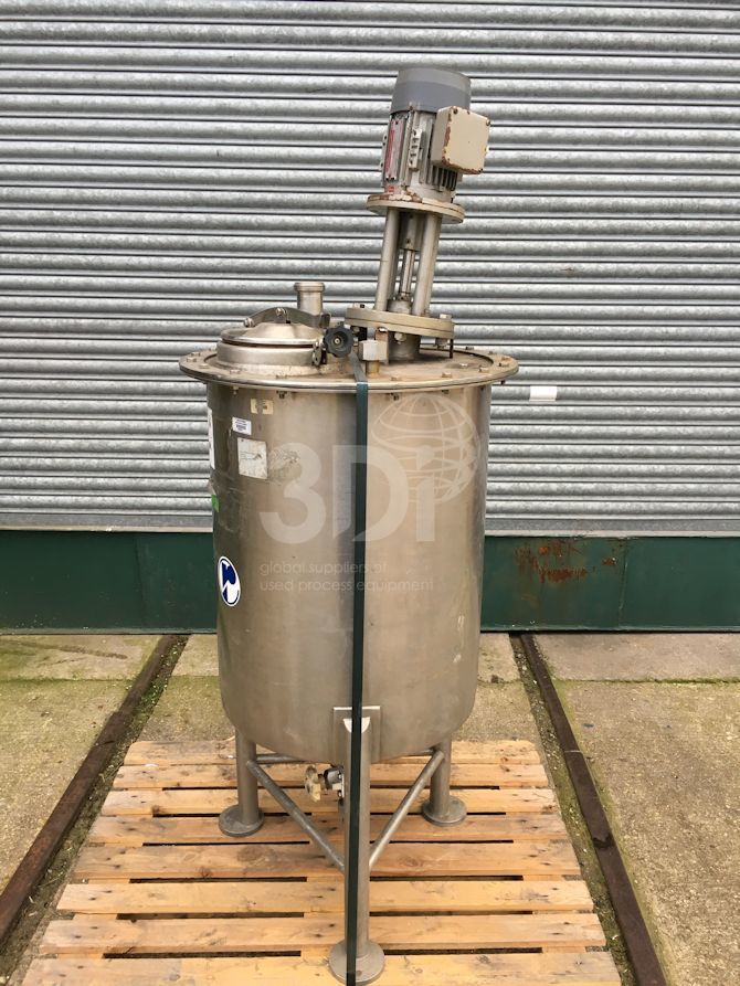 150 Litre Stainless Mixing Vessel #2347 main image