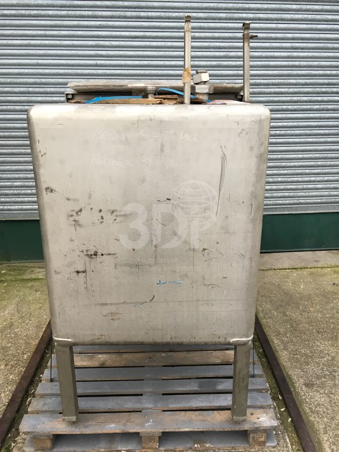 1,000 Litre Rectangular Storage Tank #2350 main image