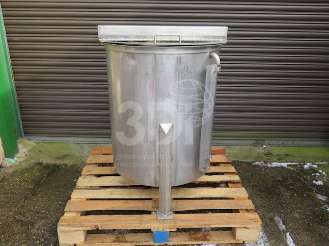300 litre stainless steel storage tank main image