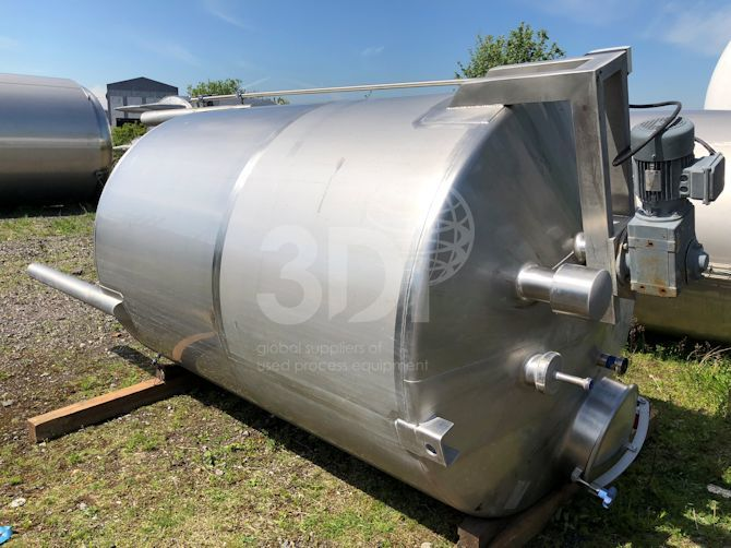 4500-litre-stainless-steel-mixing-vessel-#2379-main-image