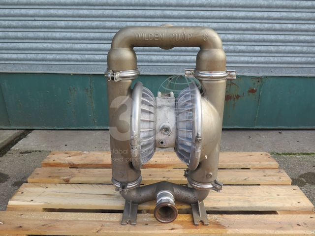 Wilden P8 Metal Air Operated Diaphragm Pump #2401 main image
