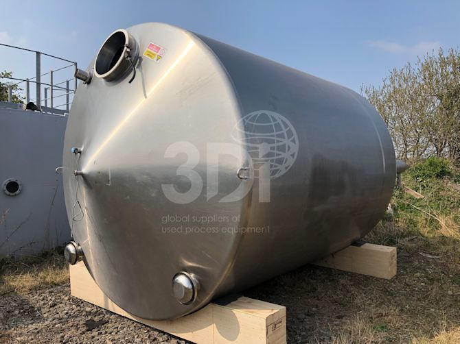 23,000 litre stainless steel storage tank main image