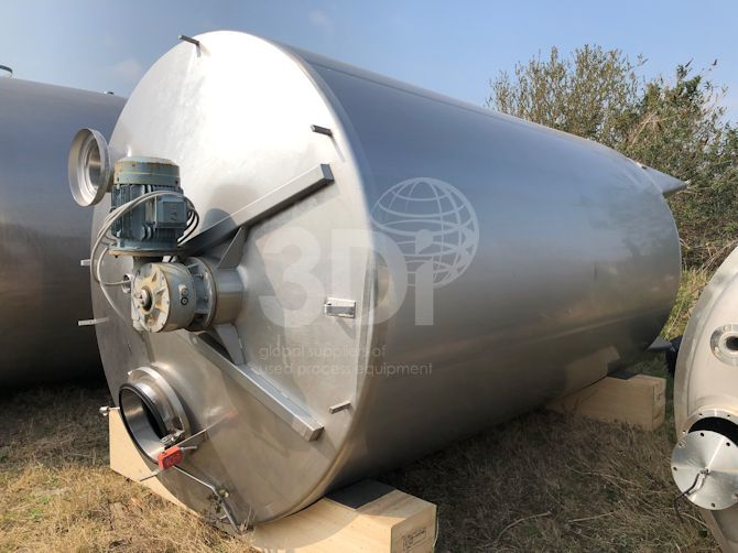 23000 litre stainless steel mixing vessel main image