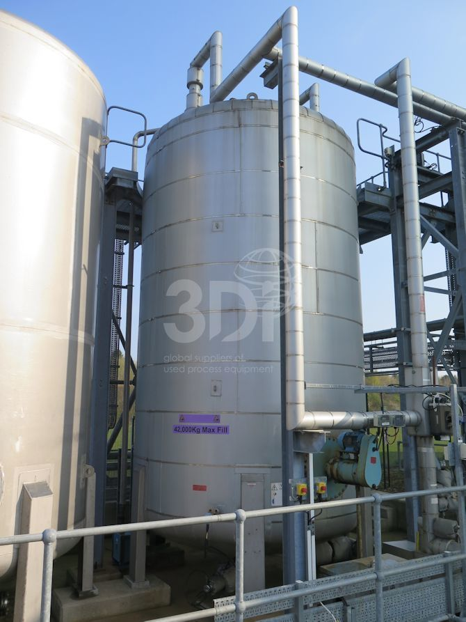 42.000 litre stainless steel storage tank main image