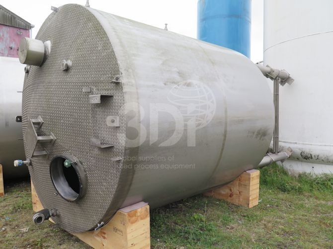 18000 litre jacketed storage tank main image