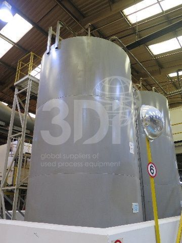 55000 litre stainless steel storage tank main image
