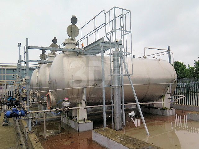 main image of 30000 litre stainless steel storage tank #2444