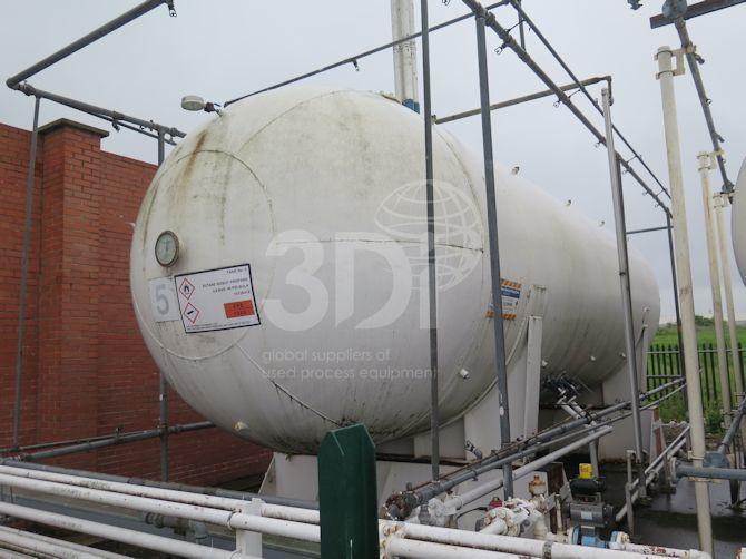 image of 30 tonne lpg storage tank