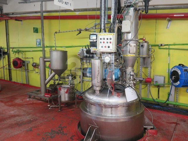 main image of antiperspirant deodorant mixing plant