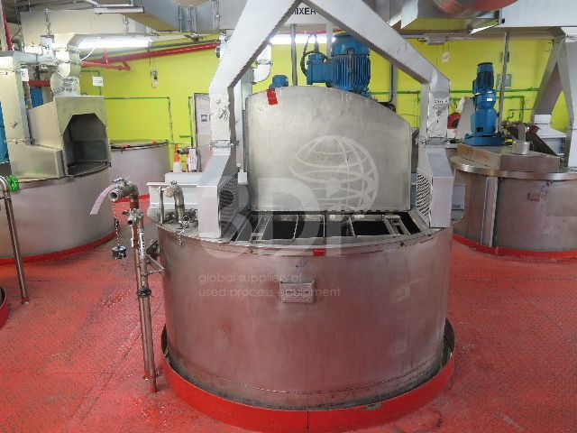 image of 5700 litre stainless mixing vessel #2461