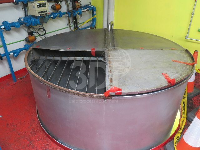 image of 8000 litre stainless storage tank #2462