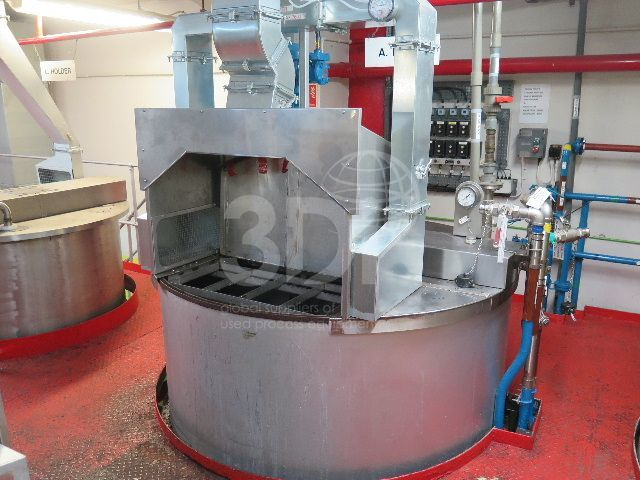 image of 7700 litre stainless mixing vessel #2463a