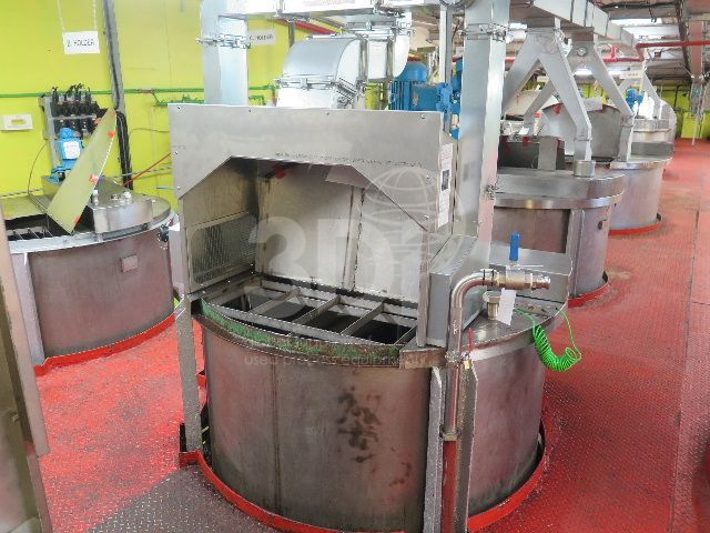 image of 6400 litre stainless mixing vessel #2465a