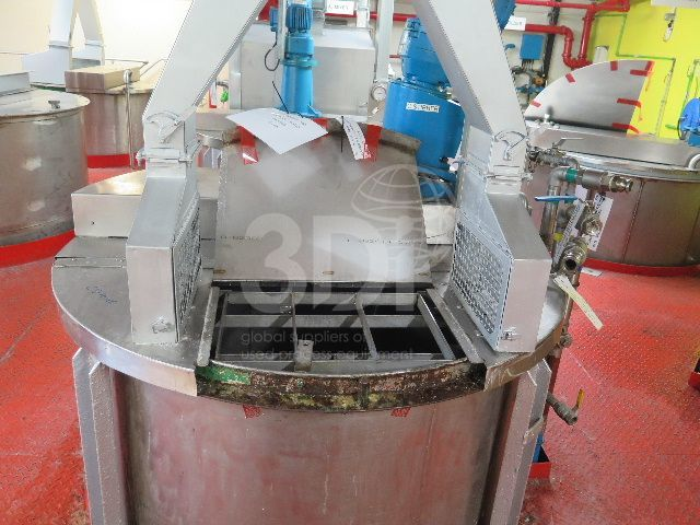 image of 4700 litre stainless mixing vessel #2467a