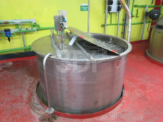 image of 5000 litre stainless holding vessel #2469