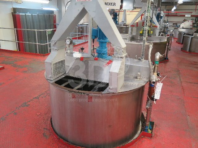 image of 5000 litre jacketed mixing vessel #2470