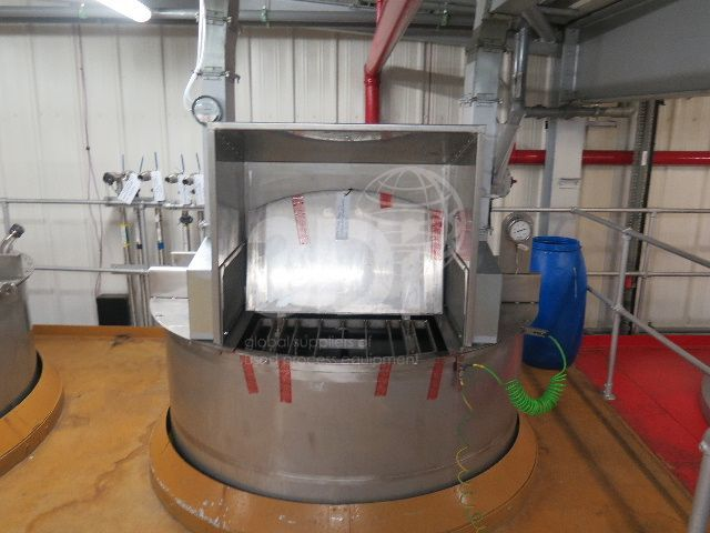 image of 5000 litre stainless mixing tank #2475a