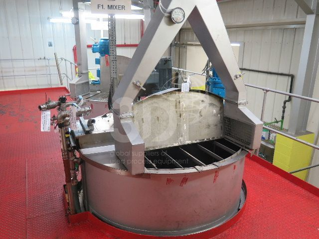 main image of 5000 litre stainless mixing vessel #2478