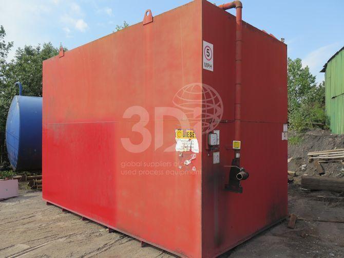 image of 38000 litre bunded diesel storage tank #2434