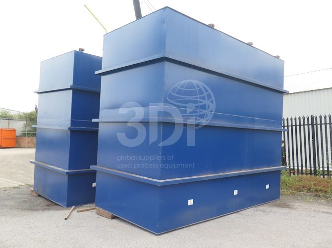 image of 54000 litre rectangular storage tank #2483a