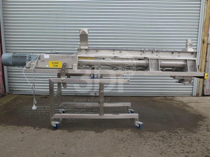 image of ajax twin screw mixer size 125 #2485