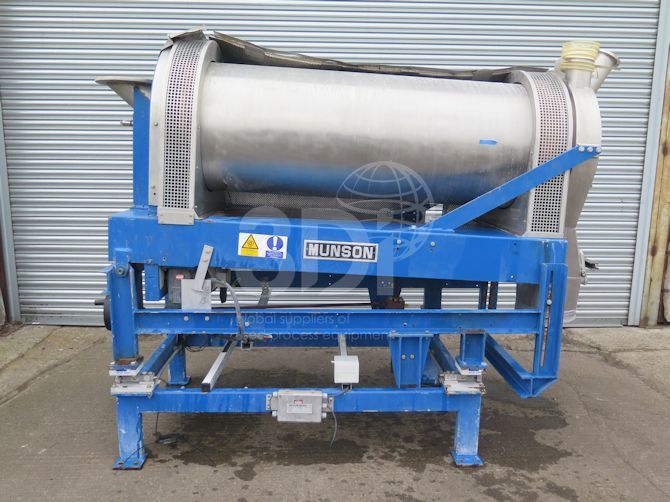 image of munson rotary continuous mixer 24x6ss #2428c