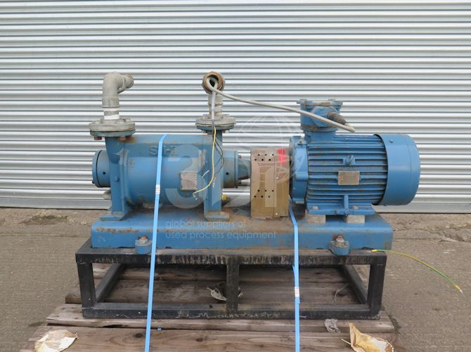 main image of sterling sihi liquid ring vacuum pump lphx45316 #2489a