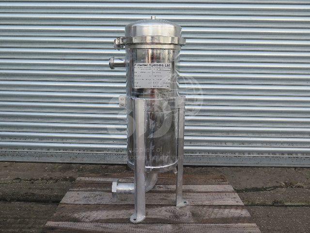 image of filtertec bag filter housing BF0101VB