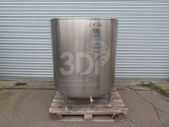 main image of 900 litre stainless steel storage tank #2501a