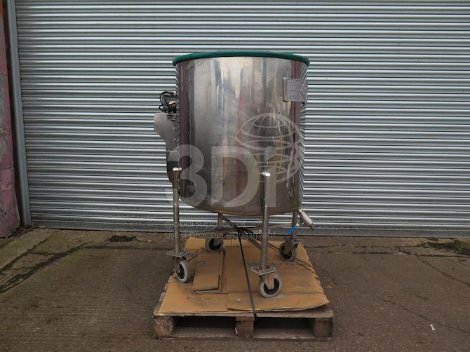 main image of 450 litre mobile storage tank #2502a