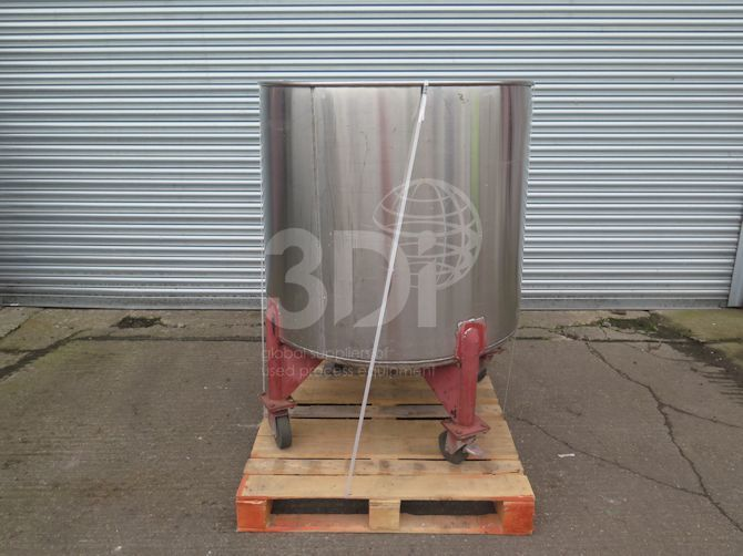 main image of 600 litre mobile storage tank #2503a