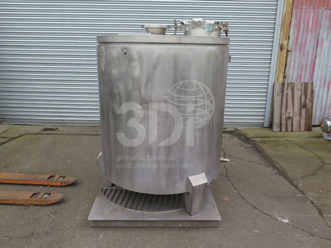 main image of 1000 Litre stainless mixing tank #2504a
